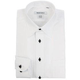 【THE SUIT COMPANY:トップス】【SUPER EASY CARE】レギュラーカラードレスシャツ 織柄 〔EC・FIT〕