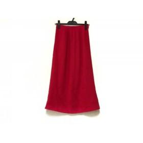 【中古】 シビラ Sybilla ロングスカート サイズ63-90 レディース レッド
