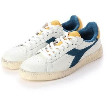 ディアドラ Diadora GAME L LOW USED (white/blue sapphire)