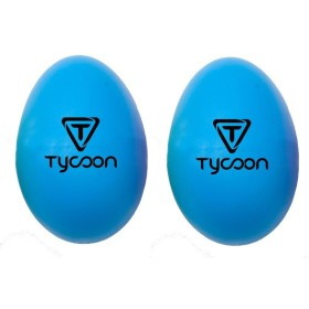 TYCOON PERCUSSION TE-B Egg Shakers ブルー エッグ シェイカー