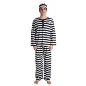フォンデットスーツ 黒/白 Men's コスプレ 衣装 ハロウィン メンズ
