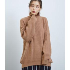 ニット・セーター - ROPE' PICNIC 【WEB限定】片畔チュニックニットトップス