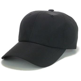 キャップ - Smart Hat Factry <春夏新作>撥水ナイロン無地ローキャップ ヤング 帽子