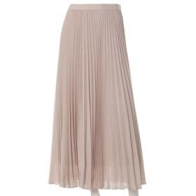 INED L / 《大きいサイズ》プリーツスカート