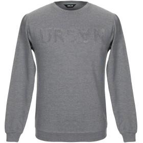《セール開催中》!SOLID メンズ スウェットシャツ グレー S コットン 100%