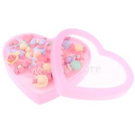 24個の樹脂の指輪は小さな女の子のためのプレイジュエリーのおもちゃを装って