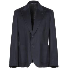 《セール開催中》DOLCE & GABBANA メンズ テーラードジャケット ダークブルー 46 カシミヤ 95% / ポリエステル 3% / シルク 2%