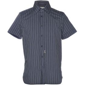 《送料無料》DIESEL メンズ シャツ ダークブルー S コットン 100%