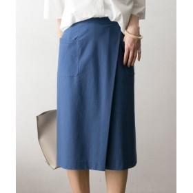 【65%OFF】 アーバンリサーチ カットカルゼタックタイトスカート レディース BLUE FREE 【URBAN RESEARCH】 【タイムセール開催中】