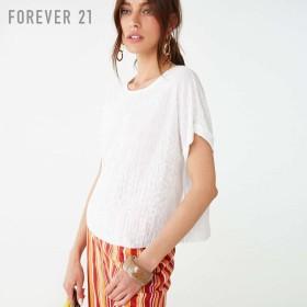 FOREVER21 フォーエバー21 【ドルマンスリーブTシャツ】(5,000円以上購入で送料無料)