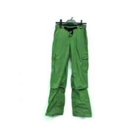 【中古】 コロンビア columbia パンツ サイズM レディース グリーン