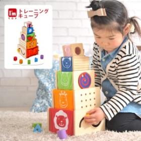 アイムトイ 知育玩具 木のおもちゃ 紐通し 知育 おもちゃ 赤ちゃん おしゃれ 誕生日 出産祝 プレゼント トレーニングキューブ