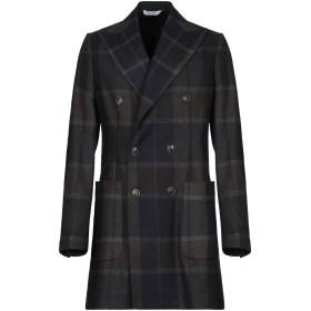 《期間限定 セール開催中》BOTTEGA MARTINESE メンズ コート ダークブルー 52 ウール 75% / ナイロン 25%