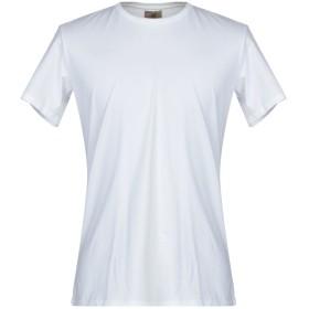 《期間限定セール開催中!》MOSCA メンズ T シャツ ホワイト XS コットン 100%