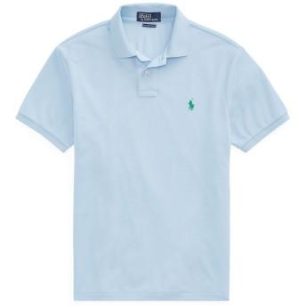 《セール開催中》POLO RALPH LAUREN メンズ ポロシャツ スカイブルー S ポリエステル 100% The Earth Polo Shirt