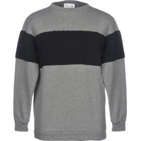《期間限定 セール開催中》BONSAI メンズ スウェットシャツ グレー M コットン 70% / ポリエステル 30%
