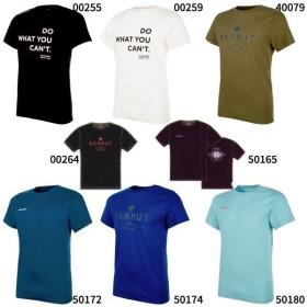 マムート メンズ セイル Seile T-Shirt アウトドアウェア トップス 半袖Tシャツ ロゴ クライミング ボルダリング 1017-00970