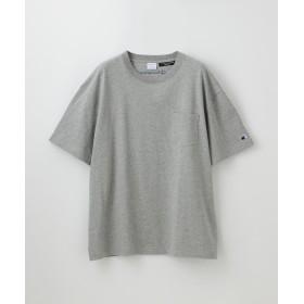 【30%OFF】 ギルドプライム MEN 別注ビッグシルエットエンブロイダリーポケットTシャツ メンズ グレー3 L 【GUILD PRIME】 【セール開催中】