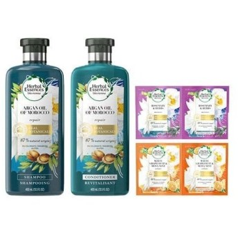 ハーバルエッセンス ビオリニュー モロッカンオイル ポンプペア+2日分お試しセット ( 1セット )/ ハーバルエッセンス(Herbal Essences)