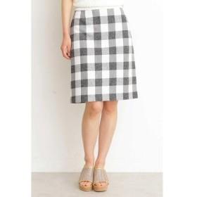 PROPORTION BODY DRESSING / プロポーションボディドレッシング  ギンガムチェックリボンタイトスカート