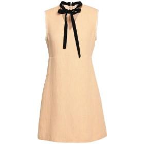 《期間限定セール中》MAJE レディース ミニワンピース&ドレス サンド 2 コットン 40% / 麻 30% / レーヨン 30%