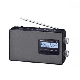 Panasonic  携帯ラジオ テレビAMFM ワイドFM対応 ブラック RFU180TV-K パナソニック