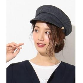 any SiS / エニィスィス 【UVケア・サイズ調整可】マリンボタン キャスケット