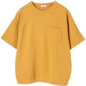 【6,000円(税込)以上のお買物で全国送料無料。】mens TC裏毛半袖ビッグTEE