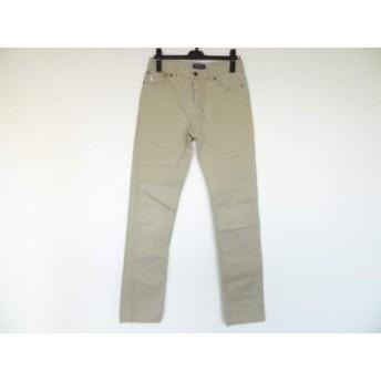 【中古】 ポロラルフローレン POLObyRalphLauren パンツ サイズ160 レディース ベージュ