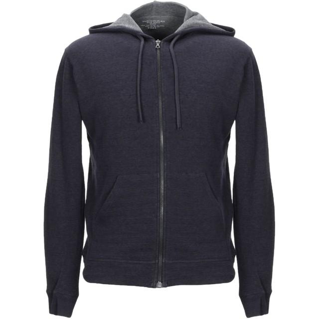 《セール開催中》MAJESTIC FILATURES メンズ スウェットシャツ ダークブルー M コットン 70% / カシミヤ 30%