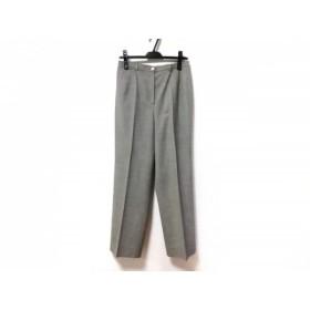【中古】 アクリス AKRIS パンツ サイズUS8 M レディース ライトグレー