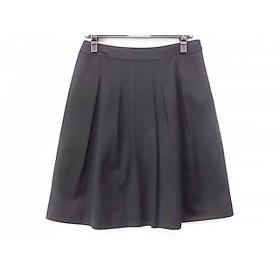 【中古】 ジユウク 自由区/jiyuku スカート サイズ40 M レディース 美品 黒