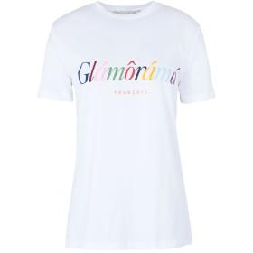 《期間限定セール開催中!》TRE CCILE レディース T シャツ ホワイト XS コットン 100% GLAMORAMA T-SHIRT