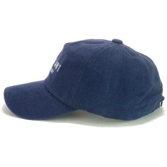 キャップ - Smart Hat Factry <春夏新作>ロゴプリントウォッシュダックツイルローキャップ ヤング 帽子