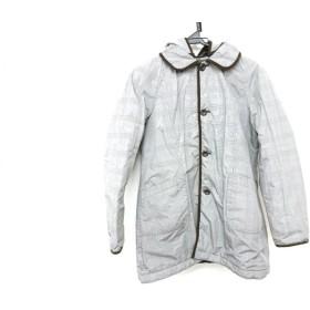 【中古】 マクレガー McGREGOR コート サイズ11 M レディース 美品 グレー ダークブラウン
