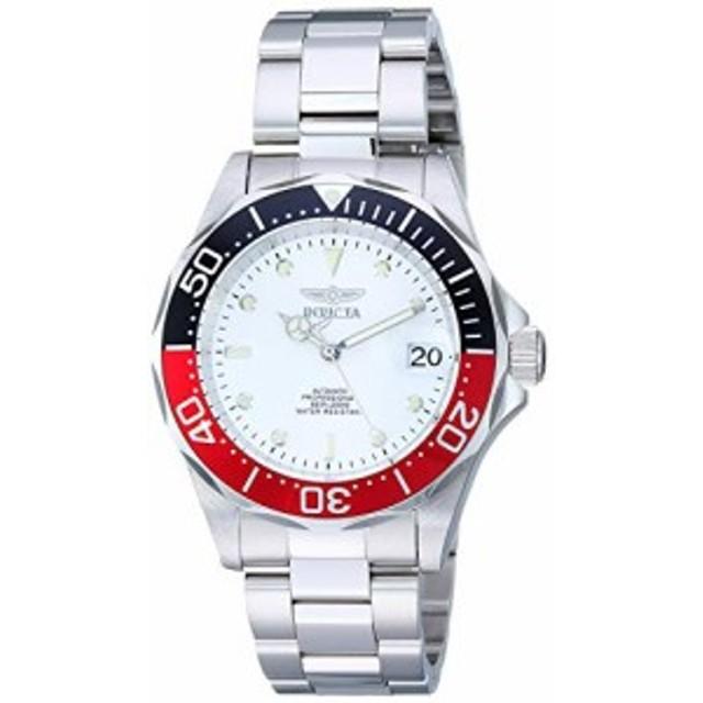 インヴィクタ男性の9404個のプロダイバーコレクションオートマチック銀トーン時計