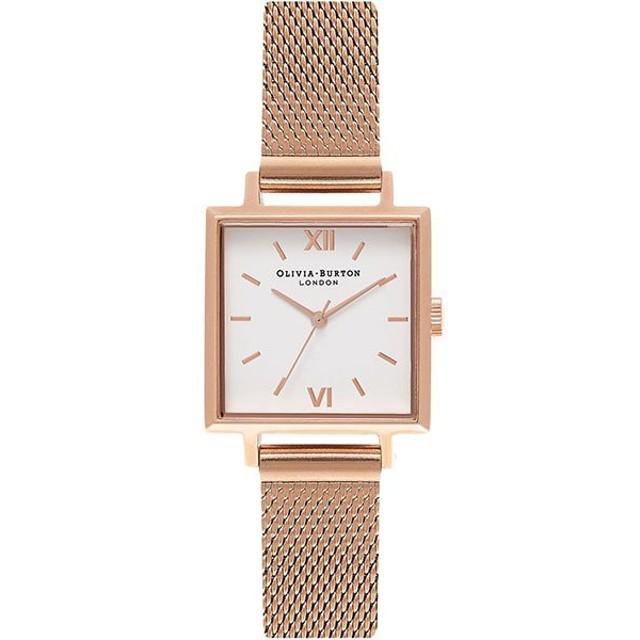 【並行輸入品】OLIVIA BURTON オリビアバートン 腕時計 OB16SS05 レディース Square Dials スクエア ダイアルズ クオーツ
