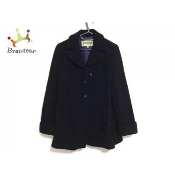 ホコモモラ JOCOMOMOLA コート サイズ40 XL レディース 黒 冬物 新着 20190404