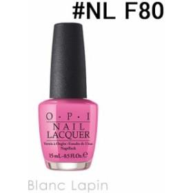 OPI ネイルラッカー #NL F80 トゥ タイミング ザ ゾーンズ 15ml [401619]