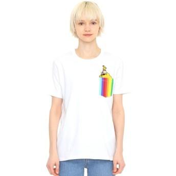 [マルイ]【セール】【ユニセックス】コラボレーションTシャツ/イエローサブマリンレインボーポケット(ザビートルズ)/グラニフ(graniph)