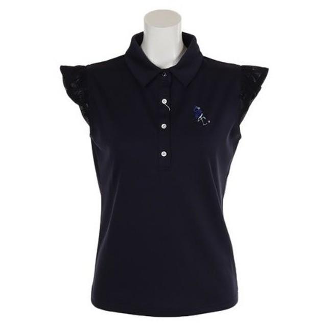 ジュンアンドロぺ(JUN&ROPE) ゴルフウェア レディース 袖フリルシャツ ERM49020-40 (Lady's)