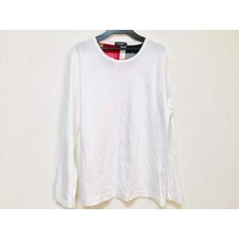 【中古】 ブラックレーベルクレストブリッジ 長袖Tシャツ サイズ3 L メンズ 美品 白