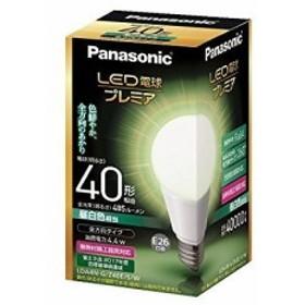 パナソニック LED電球 プレミア 一般電球・全方向タイプ LDA4NGZ40ESW