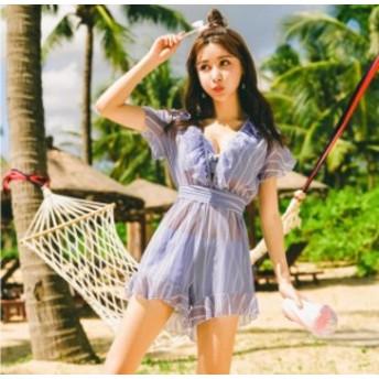 超人気3點セットBikini 少女 小胸もピッタリ 海外旅行 泉旅行 學生風 體型カバー 超可愛い 激安水著