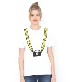 [マルイ] 【ユニセックス】ベーシックTシャツ/フェイクフォトグラファー/グラニフ(graniph)