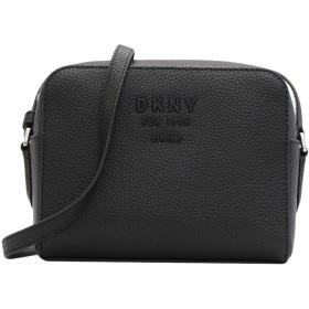 《セール開催中》DKNY レディース メッセンジャーバッグ ブラック 牛革 100% NOHO - CAMERA BAG - PEBBLE