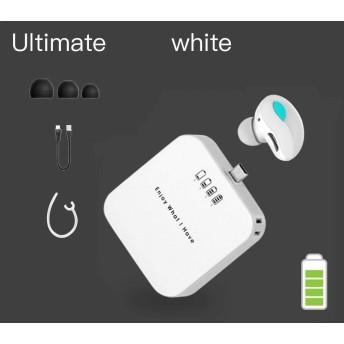 Bluetooth イヤホン 完全 ワイヤレス イヤホン 高音質 ブルートゥース イヤホン 左右分離型 両耳 ワンボタン設計 軽量 マイク内蔵