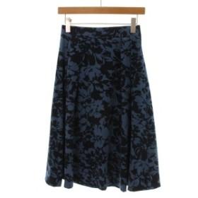 Viaggio Blu  / ヴィアッジョ ブル レディース スカート 色:青系x紺系(花柄) サイズ:1(S位)