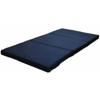 日本製 マットレス シングル 3つ折り 三つ折り 硬質 ウレタン 点で支える シングルサイズ 厚み8センチ 背痛 肩痛 体圧 分散(代引不可)【