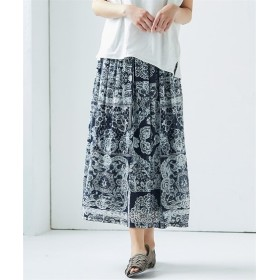 バンダナ柄たっぷりギャザースカート